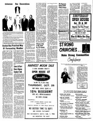 The Algona Upper Des Moines from Algona, Iowa on October 28, 1965 · Page 8